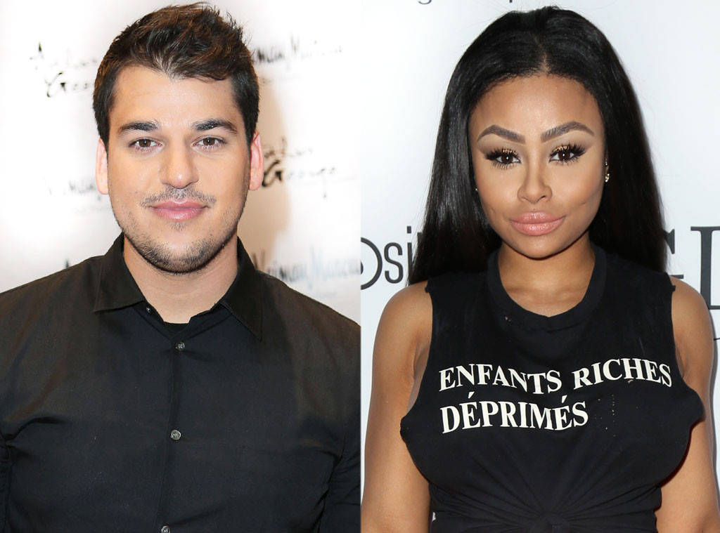 Blac Chyna And Rob Kardashian Turn Into A Couple