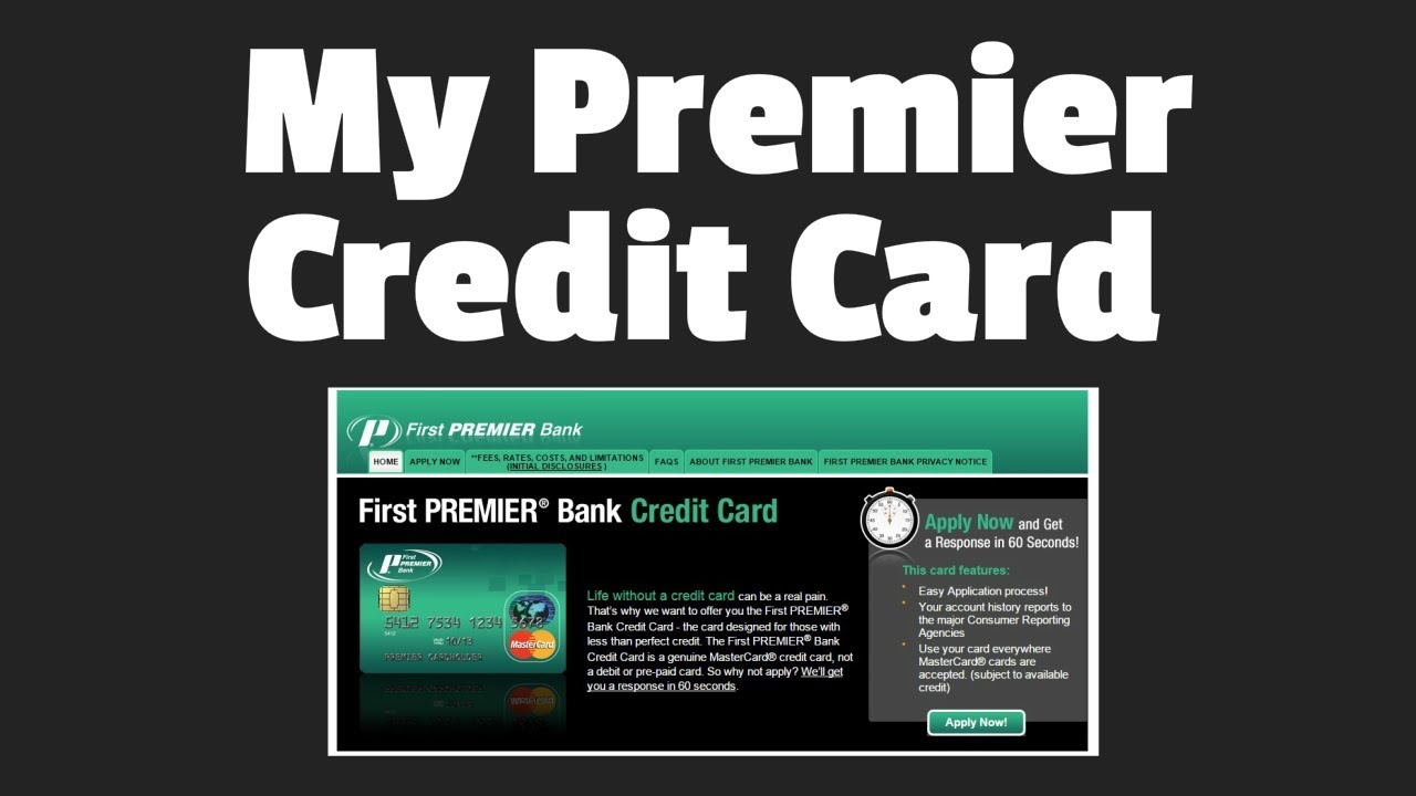 first premier bank card login - 2