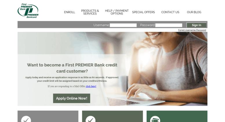 Mypremiercreditcard: MyFirstPremierCreditCard Login To Check Account Balance