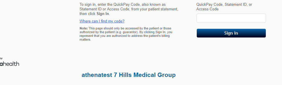 QuickPayPortal: Pay Your Medical Bills Online At www.quickpayportal.com