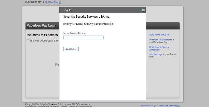 Securitas ePay Login: How To Access At Paperless Pay Talx Employee Portal?