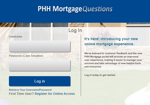 Mortgagequestions Login: PHH Mortgage Services At www.mortgagequestions.com