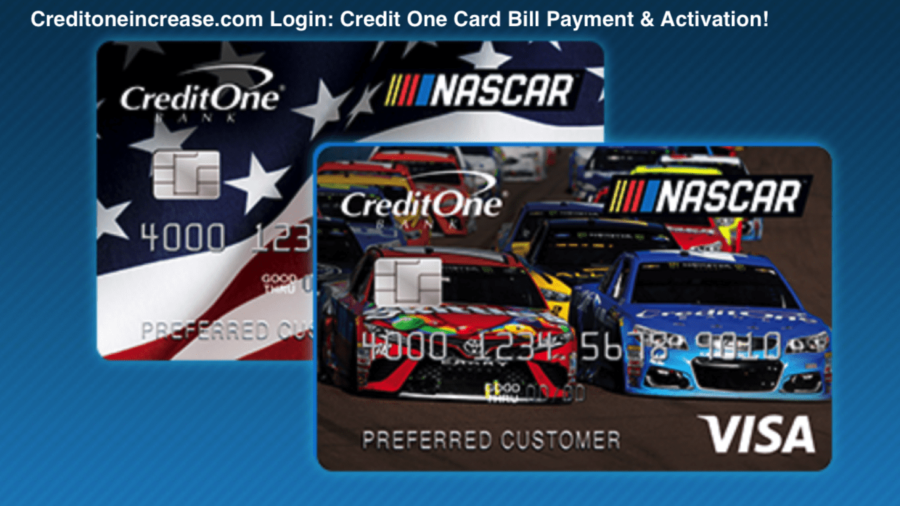 Credit One Bank Login
