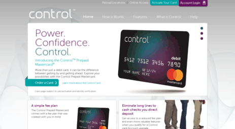Mycontrolcard Login: Access Control Prepaid Master Card At www.mycontrolcard.com