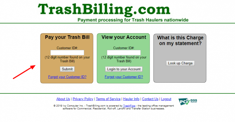Trashbilling: Login And Pay Trash Bills Online At www.trashbilling.com