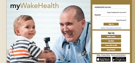 myWakeHealth: Login Your Account & Pay Bill Online At www.mywakehealth.org