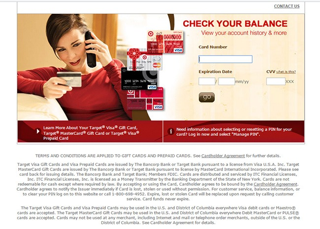 MyBalanceNow: Login To Check Target Gift Card Balance At www.mybalancenow.com