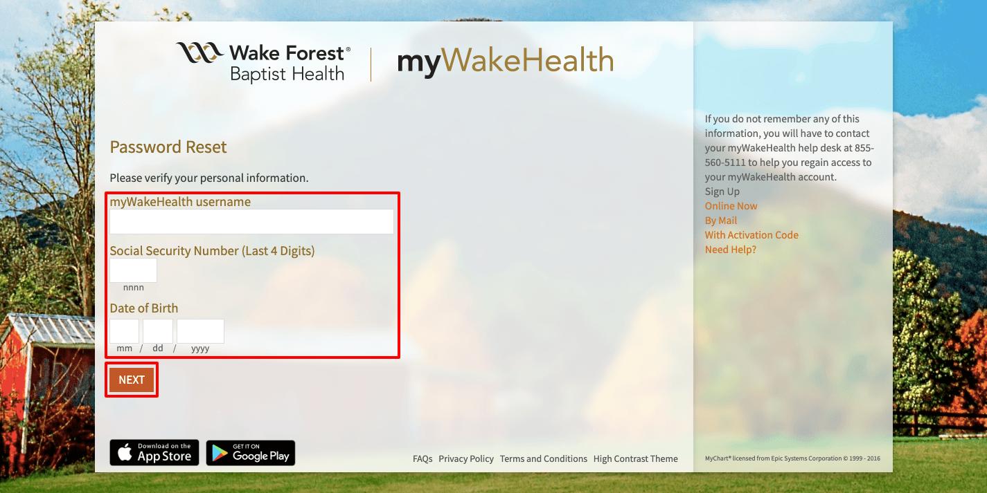 wake-forest-login