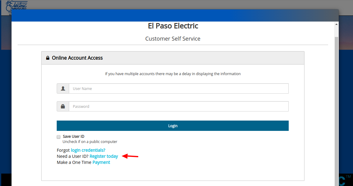 Epelectric Login: Pay your El Paso Epelectric Bill Payment Online www.epelectric.com!