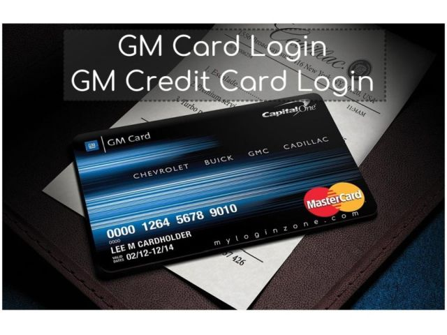 GM Card Login: Capital One GM Credit Card Online Payment At gmcard.com