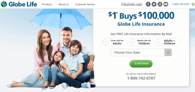 Globeontheweb Login: Globe Life Insurance Online Bill Payment At www.globeontheweb.com