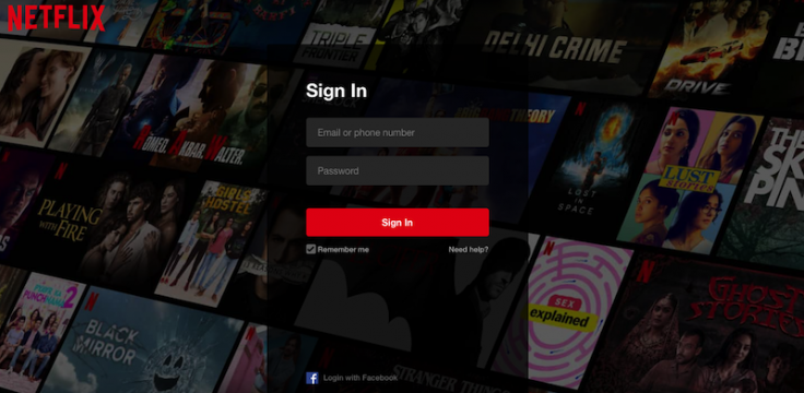 Netflix Login: Free Sign Up To Watch TV Shows, Movies Online At www.netflix.com