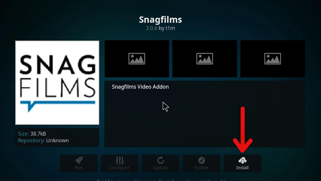SnagFilms Kodi Addons
