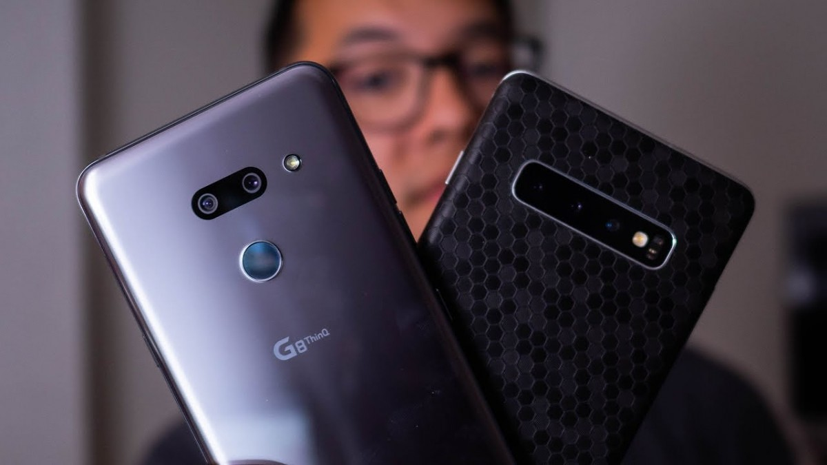 Samsung Galaxy Note 10 vs LG G8 Thinq