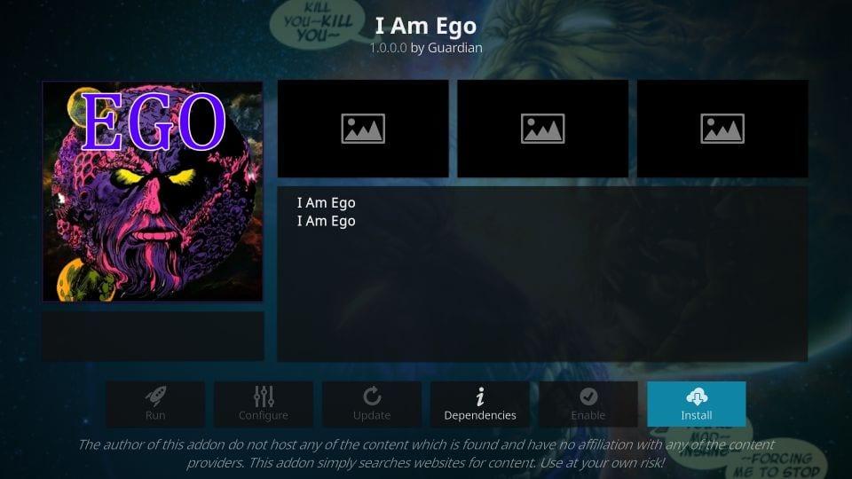 I am Ego