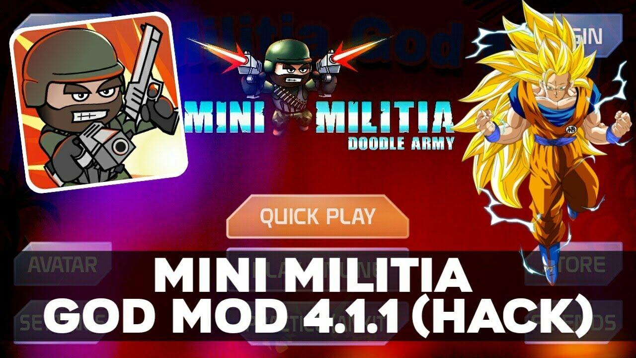 Mini Militia God Mod APK