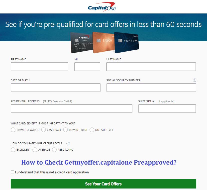 Getmyoffer.capitalone.com