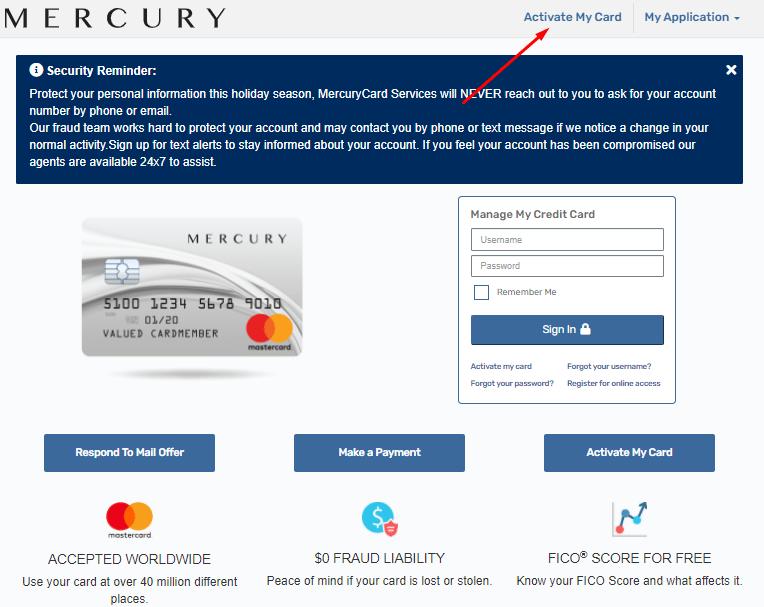 Mercurycards